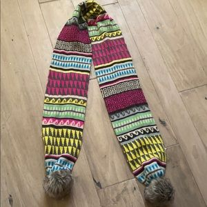 Kids colorful scarf